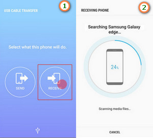 using samsung smart switch to transfer data from ios 13 to android phone