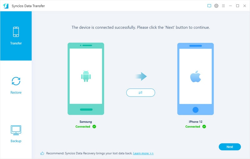 connect to android and iphone