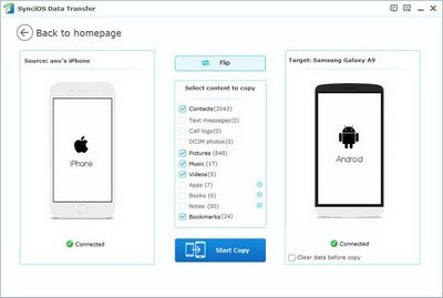 transfer iphone contacts to samsung galaxy s7 edge